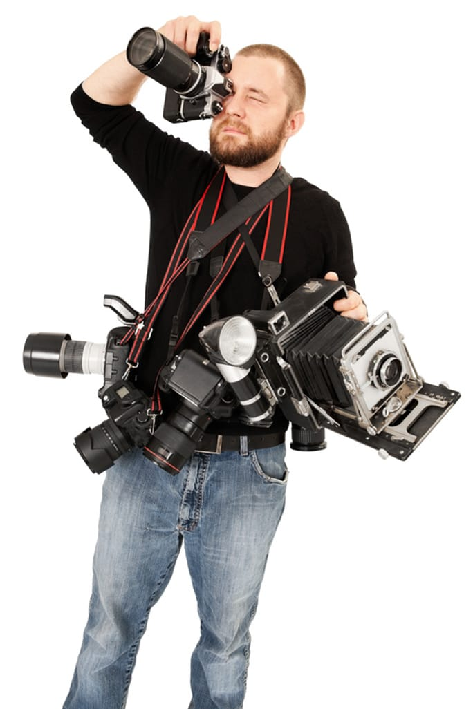 © sumnersgraphicsinc - Fotolia.com Don't be obsessed with the gear: having too much equipment is the best way to take the worst photos, some experts say