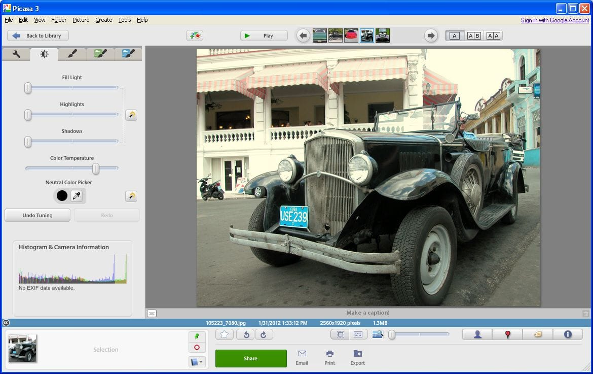 How To Organizy Photos with Google Picasa