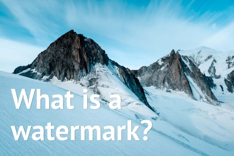 What is a Watermark